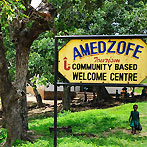 Amedzofe is a settlement south of Hohoe