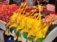 Chow Kit wet market in Kuala Lumpur