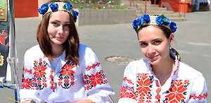 Independence Day (July 3) celebration in Gomel