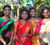 Ladies in Jaffna