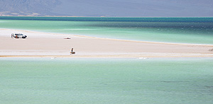 Lake Assal in Djibouti