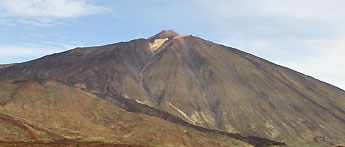 Mount Teide is a volcano on Tenerife