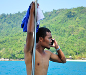 Speedboat from Kuala Besut to Perhentian Islands