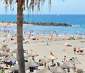 Playa de Troya beach