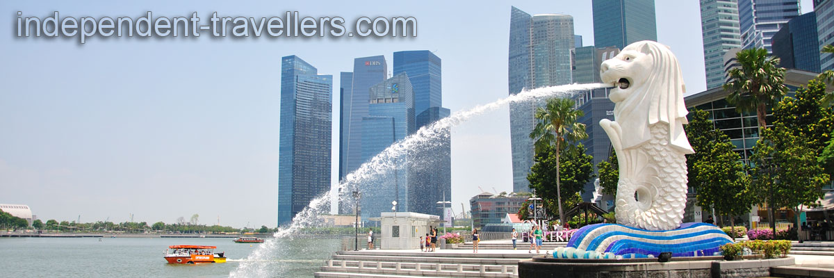 Singapore, Merlion