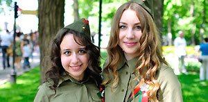 Victory Day (9th of May) celebration in Gomel