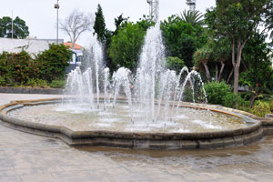 "This square is located in front of the 5-star hotel ""Sercotel Hotel Cristina Las Palmas"""