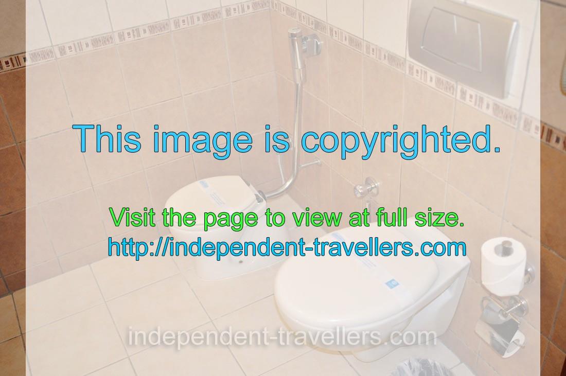 Peachy The Toilet And Bidet Are In The Bathroom Hotel Adalya Art Uwap Interior Chair Design Uwaporg